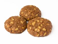 Какаови бисквити с овес без печене
