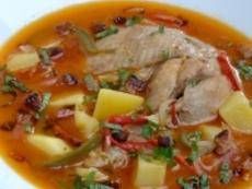 Пилешка супа - гулаш