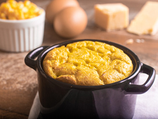 Суфле с яйца и сирене