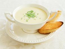 Лучена крем супа с грюер