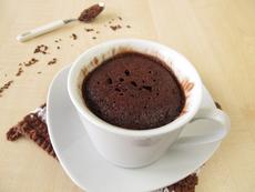 Какаов кекс в чаша за 5 минути