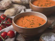 Доматена крем супа с карамфил