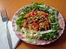 Гъби с ориз – бабината рецепта