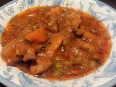 Яхния със свинско и зеленчуци