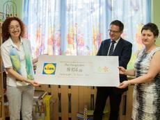 Лидл България дари 19 104 лв. в подкрепа на деца в риск