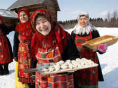 Руска кулинарна вечер с водка и сельодка