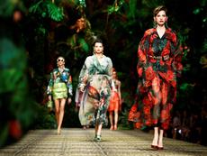 Палми, животински принт и флорални мотиви от Dolce&Gabbana за пролет/лято 2020