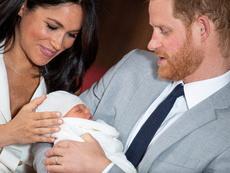 Синът на принц Хари и Меган бе кръстен (снимки)