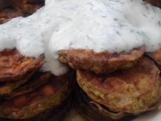 Класически пържени тиквички с млечен сос