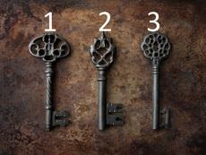 Изберете си ключ и вижте посланието за вас