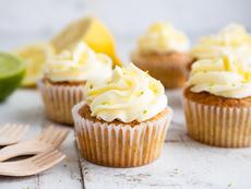 Лимонови мъфини с бял шоколад