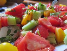 Есенна доматена салата