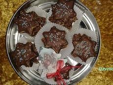 Двойно шоколадови звездички