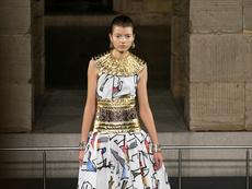 Chanel с египетско модно шоу в Ню Йорк