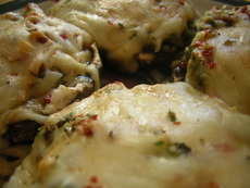 Пълнени гъби със сирене