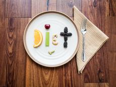 Как изглеждат 100 калории в плодове, ядките и зеленчуците