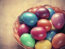 Естествени бои за яйца