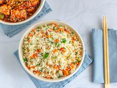 Пиле с ориз и яйце по китайски