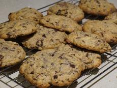 Тиквени бисквити с шоколад