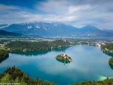 Перлата на Словения – езерото Блед (галерия)