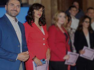 Милена Милотинова и Миро Димитров от Bulgaria ON AIR с високи отличия