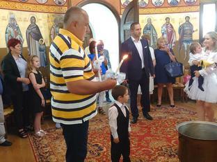 Бойко Борисов стана кръстник на внуците си