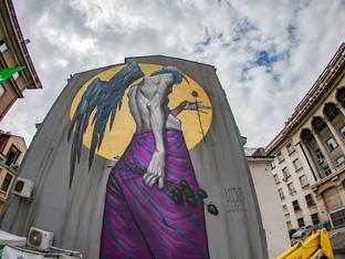 Нов графит краси центъра на София