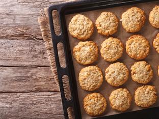 Маслени бисквити с ванилия и канела