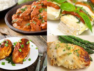 10 рецепти за пилешки гърди