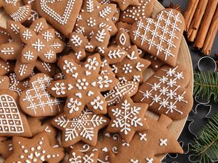 Коледни джинджифилови бисквити