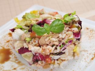 Салата с ориз по италианска рецепта