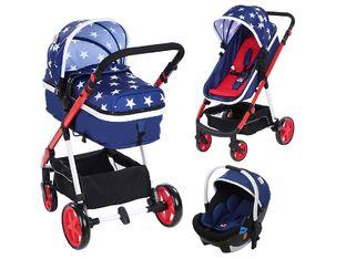 Детска количка ZIZITO Belinda 3-в-1 – интелигентният избор на родителите