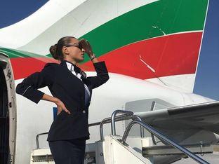 Ивета Божилова – професия стюардеса