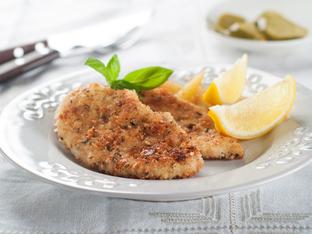 Ароматни пилешки гърди с пармезан и чесън