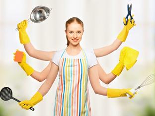 Хитро почистване на хитри домакини