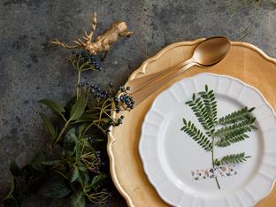 Фъншуй подредба на празничната маса за късмет през новата година
