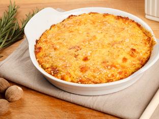 Картофено гато – италиански огретен