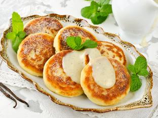 Руски палачинки с извара