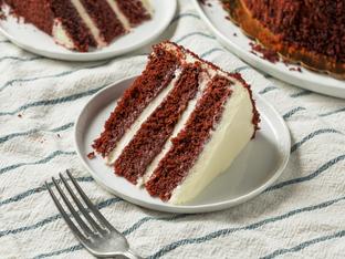 """Торта """"Червено кадифе"""""""