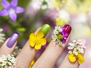 17 идеи за пролетен маникюр
