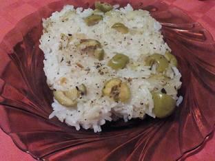 Ориз със зелени маслини