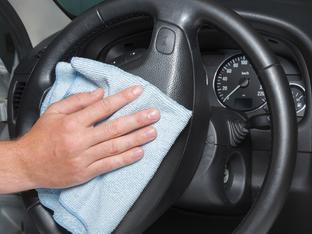 Всички места в автомобила, които също се нуждаят от дезинфекция