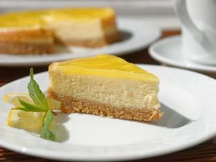 Лимонов чийзкейк с ванилия