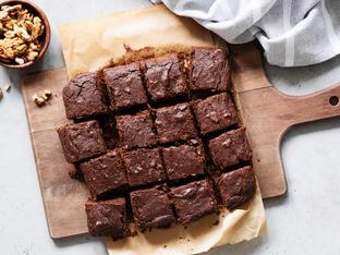 Брауни без глутен с бадемово брашно