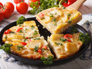 Испански омлет с картофи
