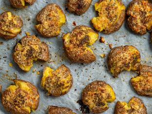 Запечени картофи с пармезан