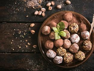 Много лесни шоколадови трюфели