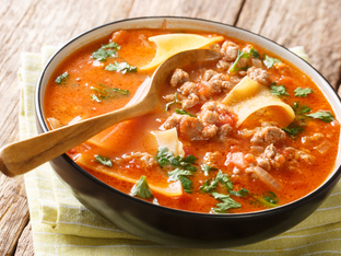 Италианска супа лазаня