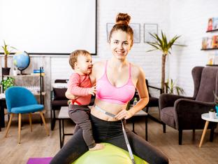 Фитнес грешки, които някои майки правят след раждането