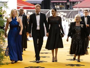 Меган Маркъл и принц Хари бяха гости на премиерата на